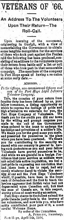 Port Hope Weekly Guide: 04 Sep 1896